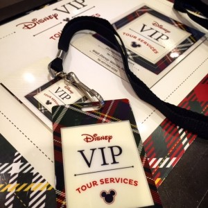 Disney VIP Badge