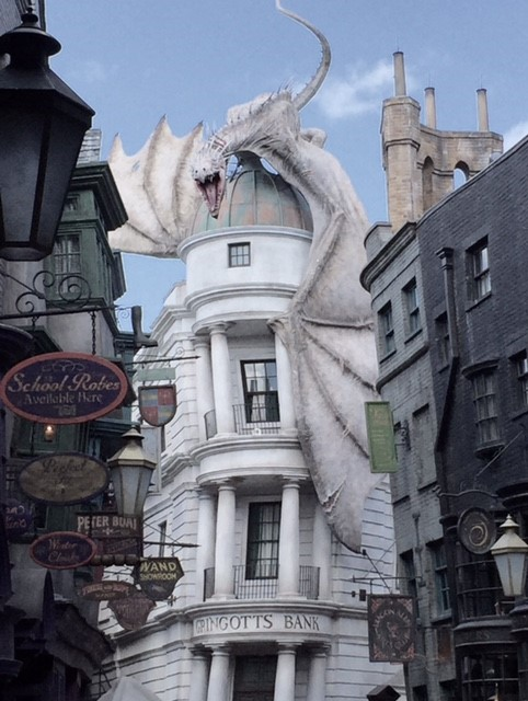 Harry Potter World - Gringott's Bank